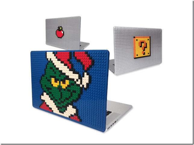 「意識高い系」のレッテル貼りから逃れられそうなLEGO風MacBookケース
