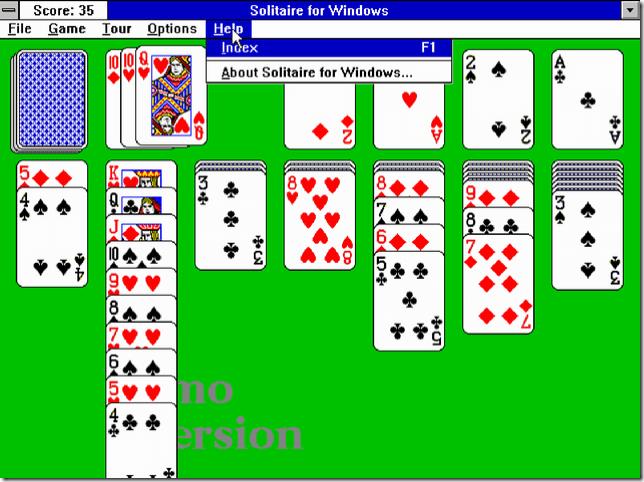 超レトロ!Windows3.1時代のゲームがブラウザ上から無料でプレイ可能