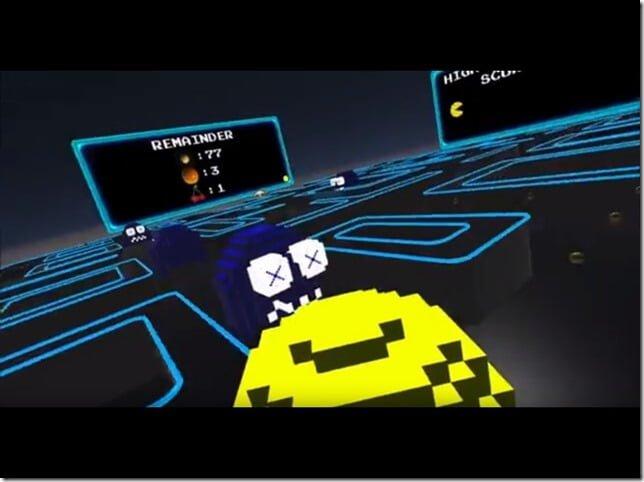 3D+主観視点で遊べる『VRパックマン』リリースに向けて支援者募集中