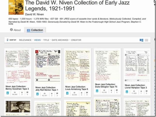 個人コレクターによる600枚以上のジャズレコードが無償公開&DL可能に