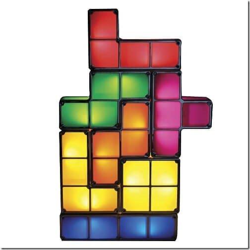 テトリスが現実世界に?自由自在に組み替え可能なランプ『Tetris Light』