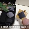『Newニンテンドー3DS LL』の十字キーが反応しないので修理に挑戦してみた
